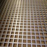 Square-hole-sheet